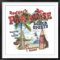 Framed Redneck Paradise