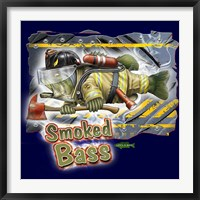 Framed Smoked Bass