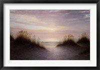Framed Twilight Dunes