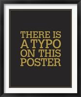 Framed Typo