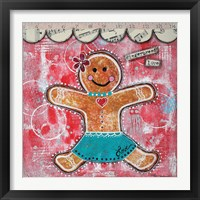 Framed Gingerbread Love
