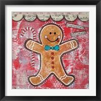 Framed Gingerbread Xmas