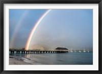 Framed Rainbows at Hanalei