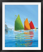 Framed Cape Cod Sail