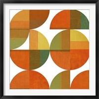 Framed Four Suns Quartered
