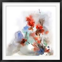 Framed Fall Flowers