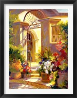 Framed Fragrant Entrance