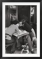 Framed Sidewalk Cafe, Boulevard Diderot