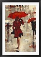 Framed Paris Invitation