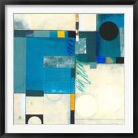 Framed Calypso Blue I