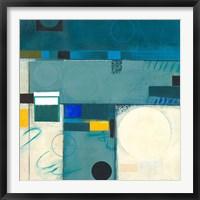 Framed Calypso Blue III