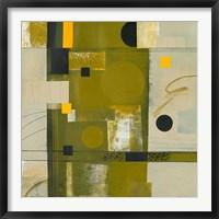Framed Shady Lane II