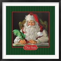 Framed Dear Santa