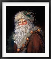 Framed Father Christmas