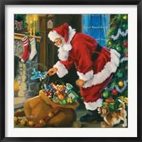 Framed Santa's Magic