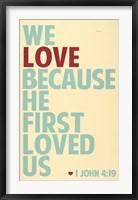 Framed We Love