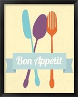 Framed Bon Appetit