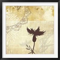 Framed Golden Henna Breeze 2