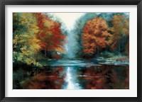 Framed Saco River