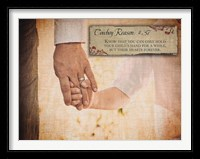Framed Child's Hand