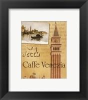 Framed Caffe Venezia
