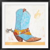 Framed Boy Boot