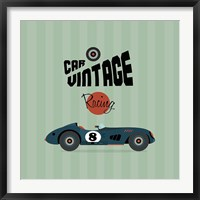 Framed Vintage Racing 1