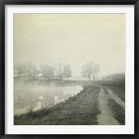 Framed Foggy Sunrise