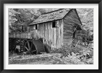 Framed Cable Mill Cades Cove