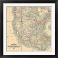 Framed American Republic, 1842