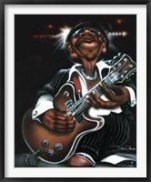 Framed Jazzman Cool