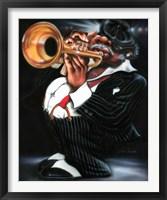 Framed Jazzman Papa Joe
