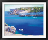 Framed Cala Llombards