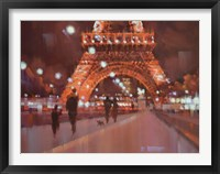 Framed Paris at Night