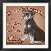 Framed To Forgive Is Canine