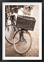 Framed Amsterdam Bicycle