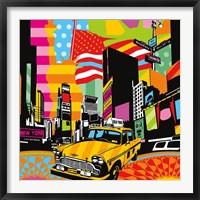 Framed New York Taxi II
