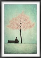 Framed Cherry Tree - Spring