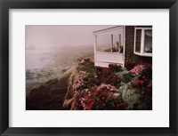 Framed Rockport Garden
