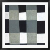 Framed Gray Plaid 1