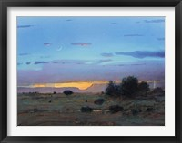 Framed High Mesa Rainstorm