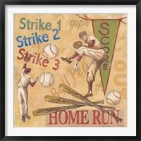 Framed Home Run!