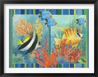 Framed Tropical Fish Goup II