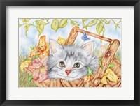 Framed Lily Basket