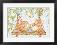 Framed Swing Kitty