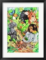 Framed Jungle