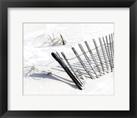 Framed Beach Fence I