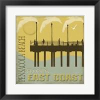 Framed Pensacola Beach