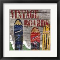 Framed Vintage boards I