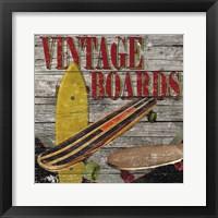 Framed Vintage Boards II